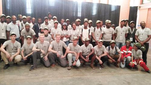 Gruppenbild Makeathon Botswana