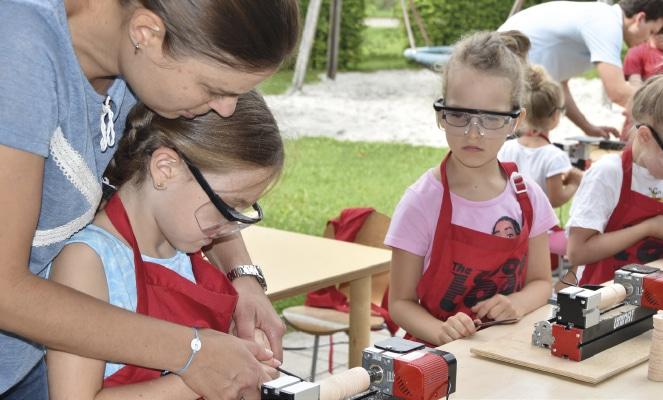 Workshop mit Kindern Regensburg.