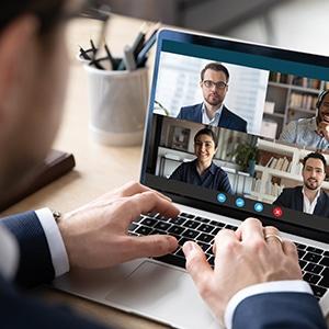 Remote Collaboration Arbeiten mit Virtuellen Konferenzen